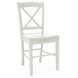 Casarredo Jídelní dřevěná židle CD-56 bílá Židle do kuchyně