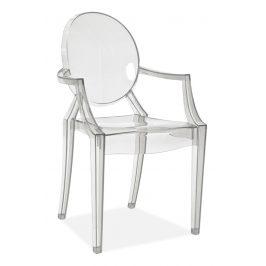 Casarredo Židle LUIS transparent Židle do kuchyně