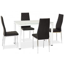 Casarredo Jídelní stůl GALANT bílý 70x110