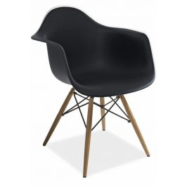 Casarredo Jídelní židle MONDI černá