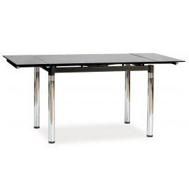 Casarredo Jídelní stůl GD-018 rozkládací černý