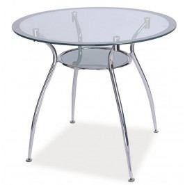 Casarredo Jídelní stůl FINEZJA A stříbrná