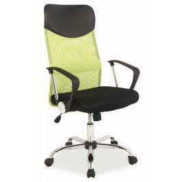 Casarredo Kancelářská židle Q-025 zelená/černá
