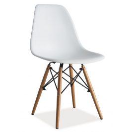Casarredo Jídelní židle ENZO bílá Židle do kuchyně