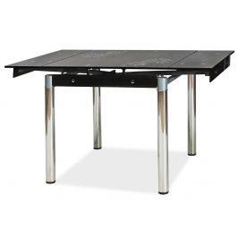 Casarredo Jídelní stůl GD-082 rozkládací černý