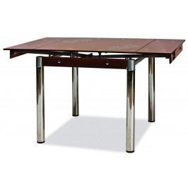 Casarredo Jídelní stůl GD-082 rozkládací hnědý Jídelní stoly