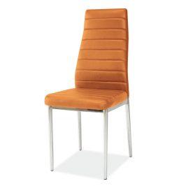 Casarredo Jídelní čalouněná židle H-261 oranžová