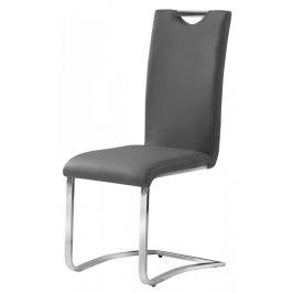 Casarredo Jídelní čalouněná židle H-790 šedá Židle do kuchyně