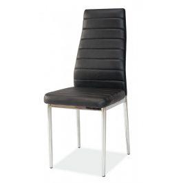 Casarredo Jídelní čalouněná židle H-261 černá