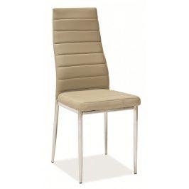 Casarredo Jídelní čalouněná židle H-261 tm. béžová