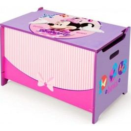 Forclaire Dětská dřevěná truhla Minnie Mouse