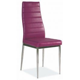 Casarredo Jídelní čalouněná židle H-261 fialová