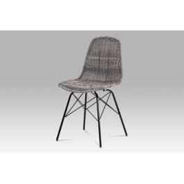 Autronic Jídelní židle SF-822 GREY Židle do kuchyně