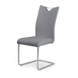 Halmar Jídelní židle K224 - šedá