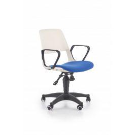 Halmar Dětská židle Jumbo, bílo-modrá
