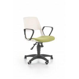 Halmar Dětská židle Jumbo, bílo-zelená