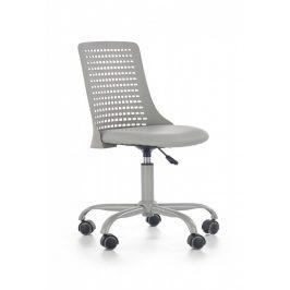 Halmar Dětská židle PURE, šedá