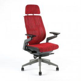 Office Pro Kancelářská židle KARME MESH - A-09 červená