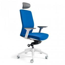 Office Pro Kancelářská židle J2 WHITE SP - tmavě modrá 211 Kancelářská křesla