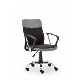 Halmar Kancelářská židle Topic, černo-šedá