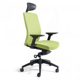 Office Pro Kancelářská židle J2 SP černý plast - zelená 203 Kancelářská křesla