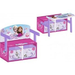 Forclaire Dětská lavice s úložným prostorem Frozen