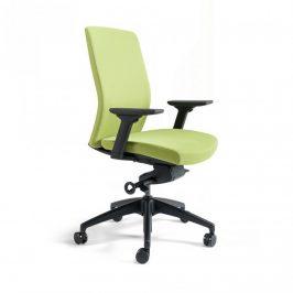 Office Pro Kancelářská židle J2 BP černý plast - zelená 203