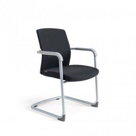 Office Pro Jednací židle JCON WHITE - černá 201 Kancelářská křesla