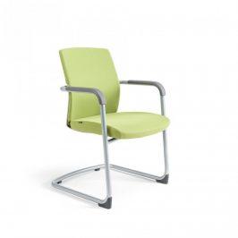Office Pro Jednací židle JCON WHITE - zelená 203