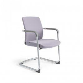 Office Pro Jednací židle JCON WHITE - šedá 206 Kancelářská křesla
