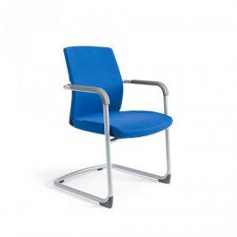 Office Pro Jednací židle JCON WHITE - tmavě modrá 211