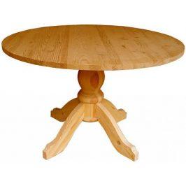 Unis Stůl dřevěný 00445 kulatý