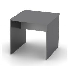 Tempo Kondela Psací stůl, grafit / bílá, RIOMA TYP 17