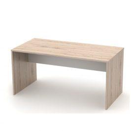 Tempo Kondela Psací stůl, grafit / bílá, RIOMA TYP 16 Psací stoly