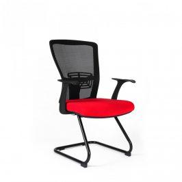 Office Pro Jednací židle THEMIS MEETING - TD-14, červená