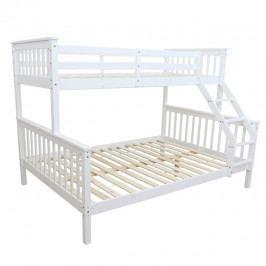 Tempo Kondela Patrová rozložitelná postel BAGIRA - bílá