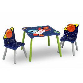 Forclaire Dětský stůl s židlemi Astronaut