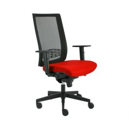 Alba Kancelářská židle Kent síť - černá konstrukce