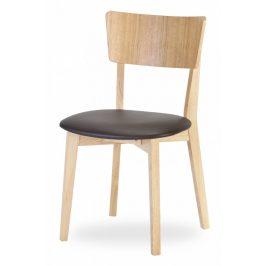 MIKO Jídelní židle DIMMY DUB LÁTKA Židle do kuchyně