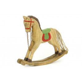 Autronic Dřevěný kůň ZA8629