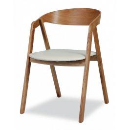 MIKO Jídelní židle Guru dub látka Židle do kuchyně