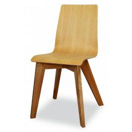 MIKO Jídelní židle Mirka podnož buk Židle do kuchyně