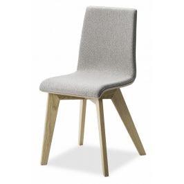 MIKO Jídelní židle Mirka podnož buk - čalouněný sedák Židle do kuchyně