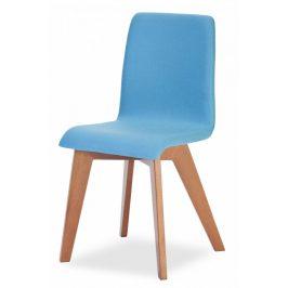 MIKO Jídelní židle Mirka podnož buk - celočalouněná