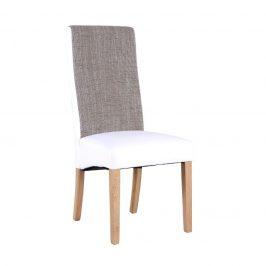 Tempo Kondela Židle ARDON - natural / bílá / melír