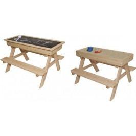 Forclaire Dřevěný dětský zahradní set