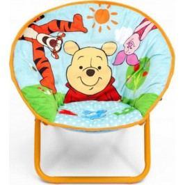 Forclaire Dětská rozkládací židlička Medvídek Pú
