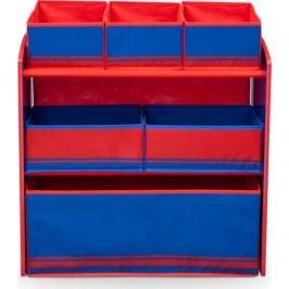 Forclaire Organizér na hračky modro - červený