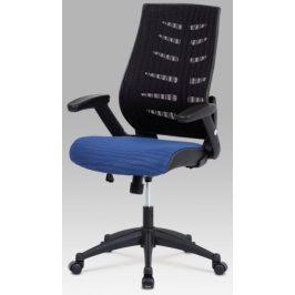 Autronic Kancelářská židle KA-J809 BLUE - modrý sedák