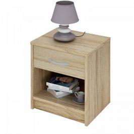 Idea Noční stolek 163757 dub